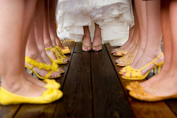 Definitely want this picture...but everyone's going to have crazy awesome shoes