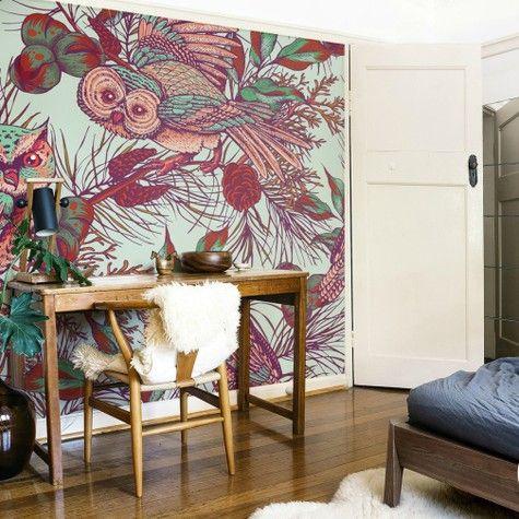 Wall Mural owls   • Inspirations • PIXERSIZE.com