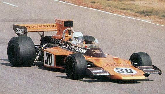 Paddy Driver, 1974 F1 Lotus 72E Team Gunston