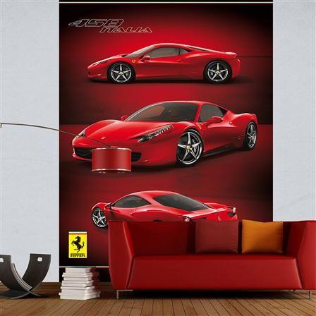 1Wall Ferrari Wallpaper Mural