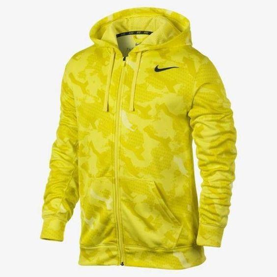 yellow nike hoodie