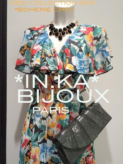 *IN.KA* BIJOUX PARIS NEW COLLECTION 2015 SHOPS IN THE FRENCH RIVIERA SAINT TROPEZ