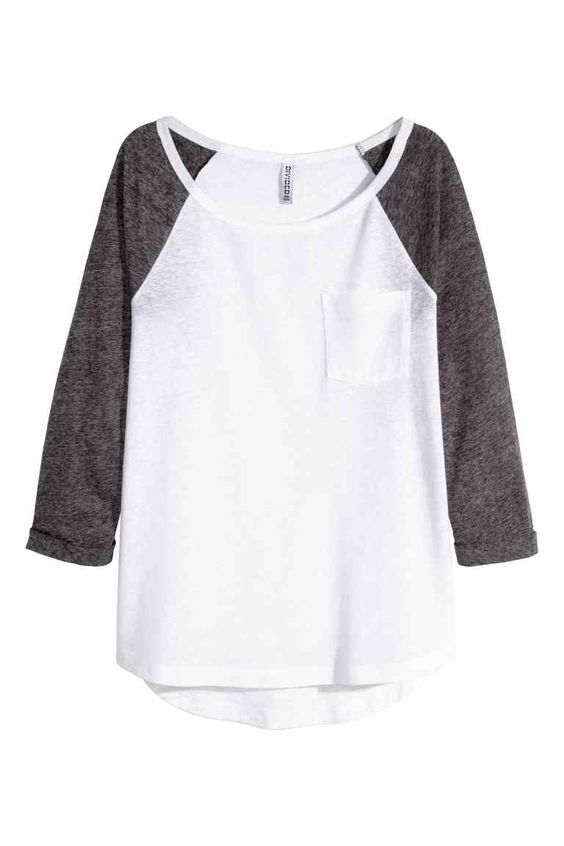 Top em jersey | H&M