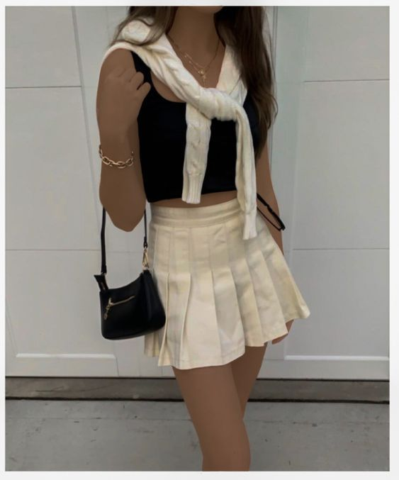 Pinterest Ashleyriako In 2020 Fashion Inspo Outfits Tennis Skirt Outfit Aesthetic Clothes