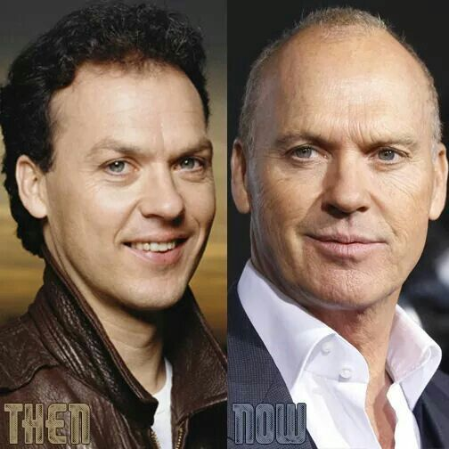 Image result for michael keaton then and now