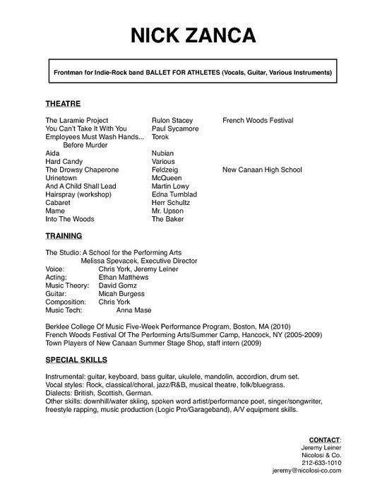 Free Resume Templates New Zealand