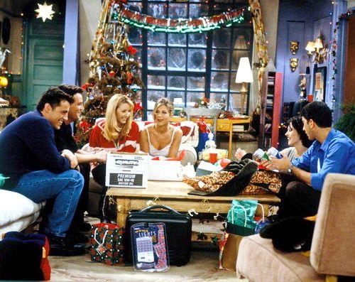 Christmas Episode Friends Moments Friends Tv Friends Tv Show