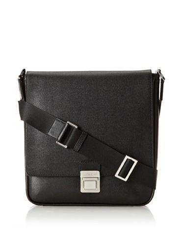 Fendi Women's Slim Messenger Bag, Black
