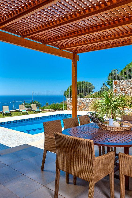 Ocean Luxury Villas Luxury Villa Pool Houses Backyard Furniture
