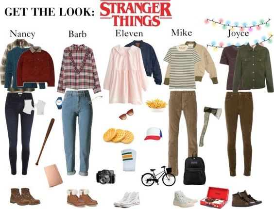 Get the Look: Stranger Things