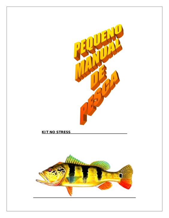 Manual de pesca gratis by Serginho Sucesso via slideshare