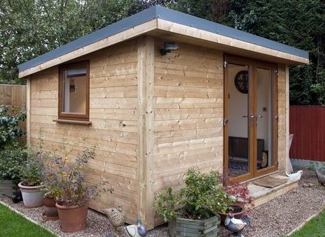 flat roof sheds ideas custom garden shed triple door custom garden shed windows - Garden Sheds Ideas