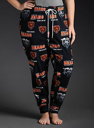 NFL Chicago Bears Football Sleep Pants, NAVY