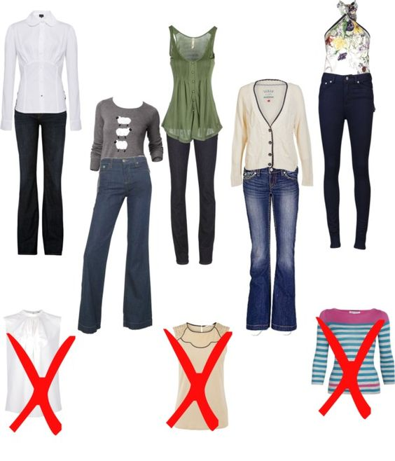 Jeans Looks For Boy Shapes With Broad Shoulders Bahaha