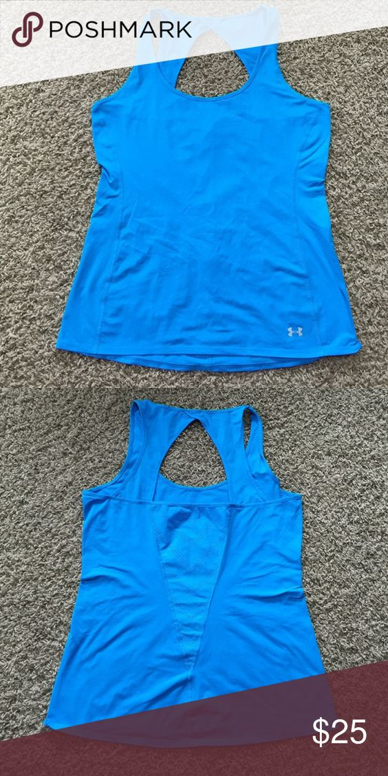 Under Armour Top Worn once, excellent condition Under Armour Tops Tank Tops
