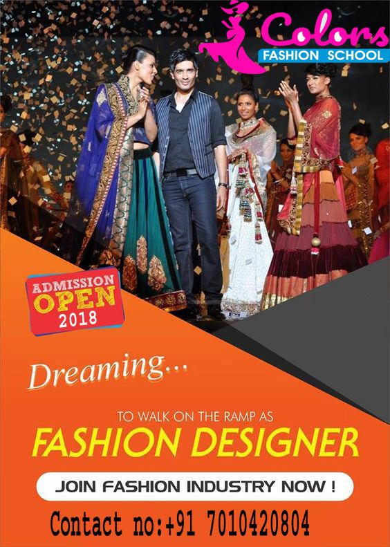 The Best Career For People With This Mind Is Fashion Designer To Start A Career First Step Is To J Fashion Designing Course Fashion Design Technology Fashion