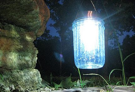 awesome diy mason jar solar lanterns