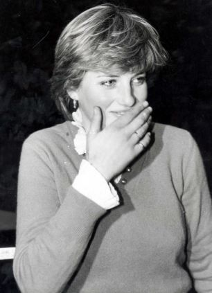 Previously Unseen Photo Of Teenage Princess Diana Scrawled