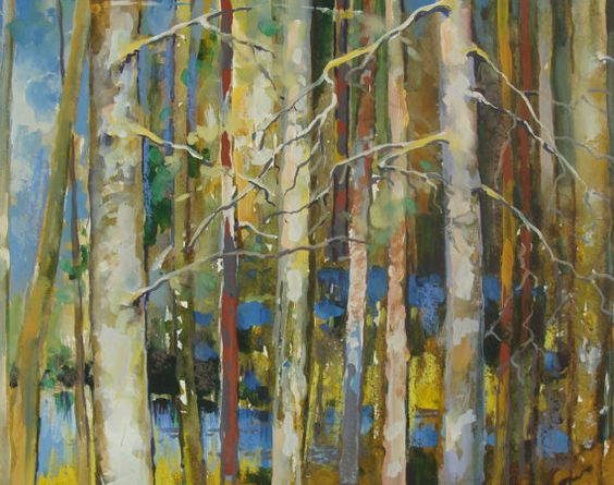 Nikalay Saunin Pines by Umbrasiena on Etsy, $285.00
