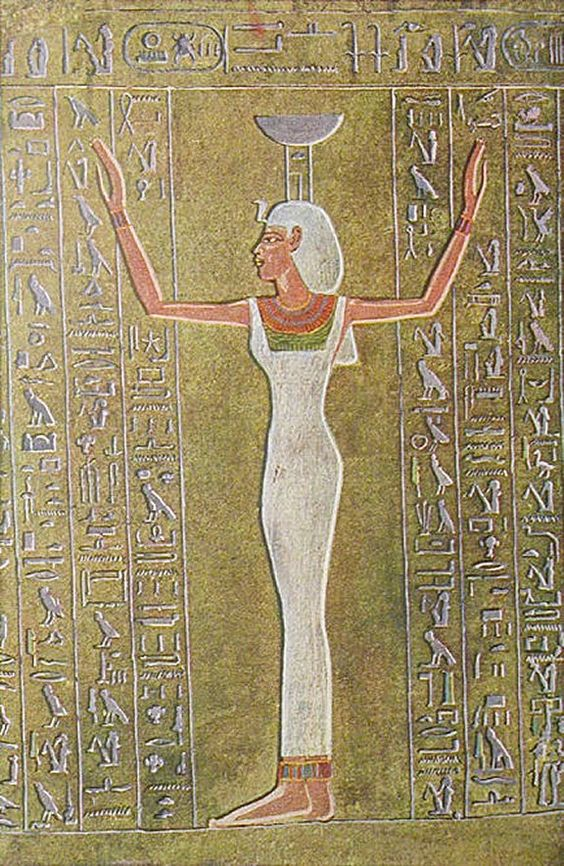 Decoration from the tomb of thothmes iii in thebes for Ancient egyptian tomb decoration