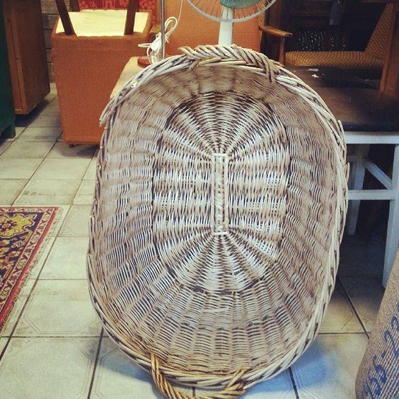 New big basket #vintage #interiors #industrial #design #loft #retro #vintageshop #sklepvintage #poznan #brutfurniture #junkstyledesign #basket #kosz #korb #wiklina #wnętrza