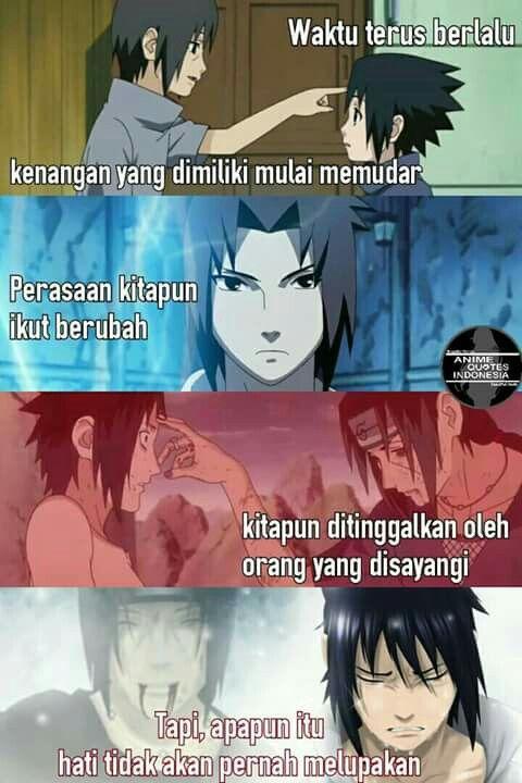 Pin Oleh Haxan17 Di Anime Qoutes Indonesia Animasi Naruto Seni
