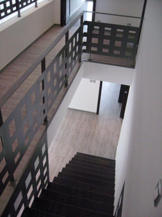 Escalier canasta marche encastre bois et acier escalier pinterest - Escalier bois et acier ...