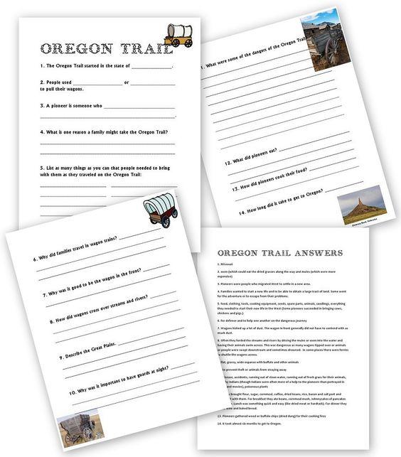 oregon trail oregon and activities on pinterest. Black Bedroom Furniture Sets. Home Design Ideas