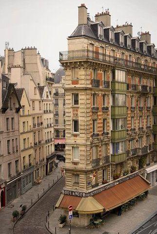 Paris Photography, 12X18 Left Bank, Paris Architecture, Art Print Boulanger, -p - Paris Photography 12X18 Left Bank Paris
