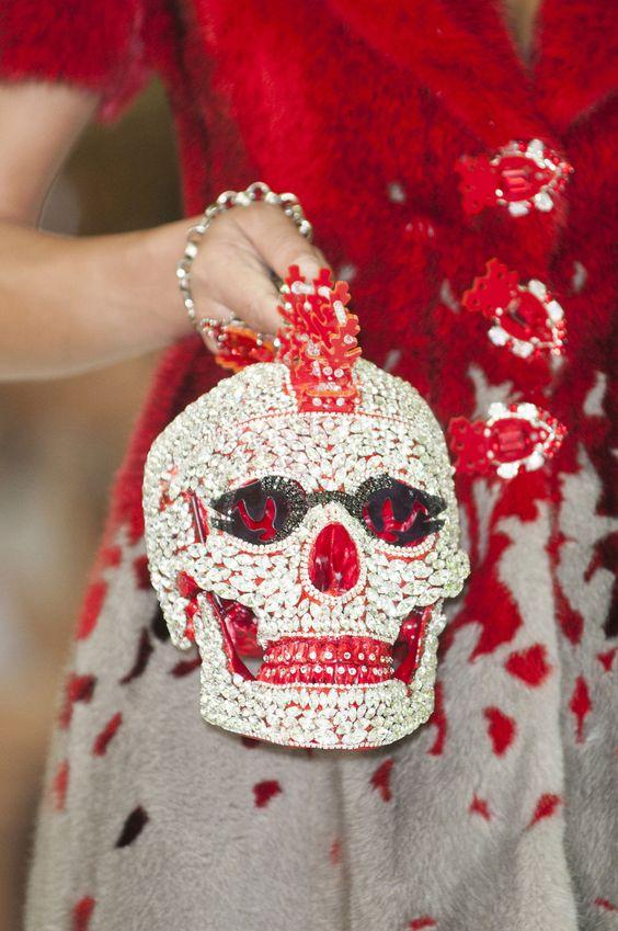 Crystal Skull Purse (BB):