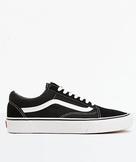 Vans Old Skool Black \u0026 White Skate