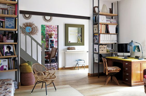 Happy, laid-back home in France. Una casa made in France - ELLE.ES