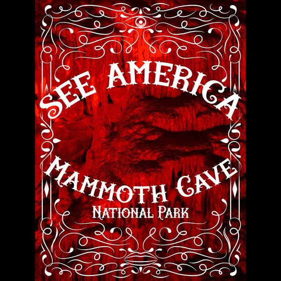 Mammoth Cave National Park by Roberlan Borges  #SeeAmerica: National Parks Southeast, Epically Regret, Live Epically, Fab Art, Borges Seeamerica