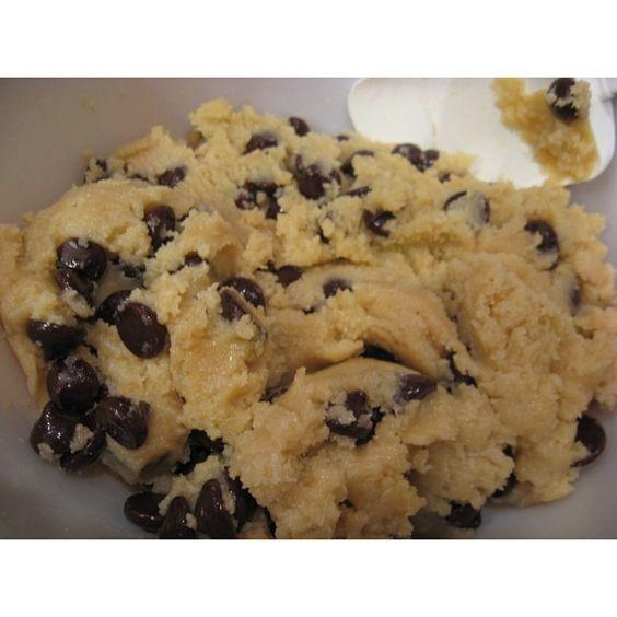 healthy cookie dough (no egg)