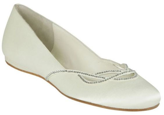 Bridal shoes - flats
