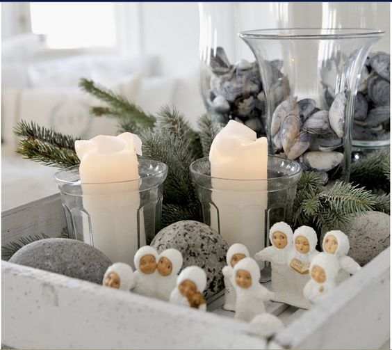 SCANDINAVIAN CHRISTMAS HOUSE