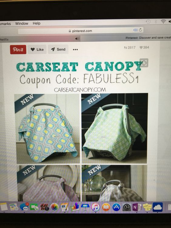 I canu0027t believe this is FREE! Perfect for baby showers... itu0027s a FREE car seat canopy to keep your baby covered and mommy stylish. Coupon code is & Another free carseat canopy code!! | FREE BABY! | Pinterest | Canopies