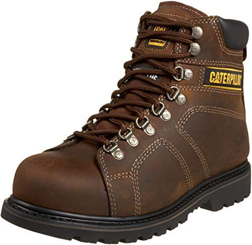 New Caterpillar Men S Silverton 6 Steel Lace To Toe Work Boot Mens Winter Clothing 84 99 From Top Sto Waterproof Steel Toe Boots Steel Toe Boots Work Boots