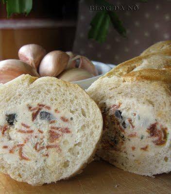 Blog da Nô: Stuffed Baguette