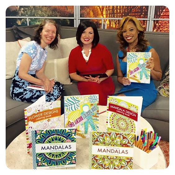I sat down for a quick interview with Lauren and Yvette at #localmemphislive this morning to talk about my #coloringbooks and the upcoming #cooperyoungfestival. I watch these ladies every morning so it was fun to meet and chat with them! Oh, and I'm wearing my new favorite dress from #cynthiarowley!