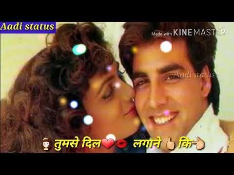 Kitni Hasrat Hai Humein Tumse Dil Lagane Ki Whatsaap Status Youtube Download Video Status Youtube
