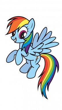 Rainbow Dash- My Little Pony step 12