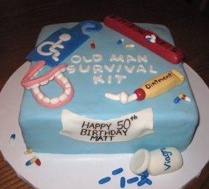 Cake Decorating Jokes : Old Man Survival Kit Cake decorating, cupcakes & baking Pinterest Survival kits, Survival ...