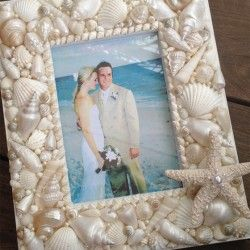 Seashell Picture Frame                                                       …