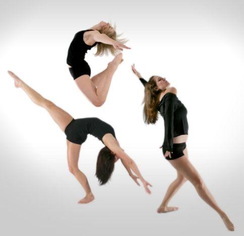 Contemporary dance moves