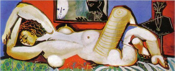 Suzanne et les vieillards - Picasso