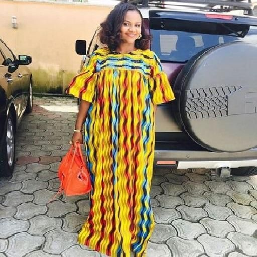 Stunning African print kaftan top size 22 up to  30