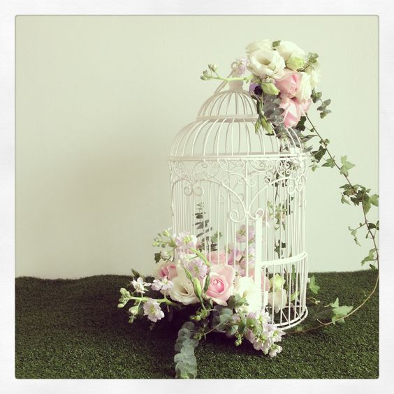 Bird cage centerpiece eventos pinterest birds in