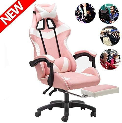 File Cabinets Armchair E Sports Chair Game Racing Chair Office Chair Bigger High Backrest Cushion Larger Armrest Ergonomic Gaming Chair Footrest Stool Chair C