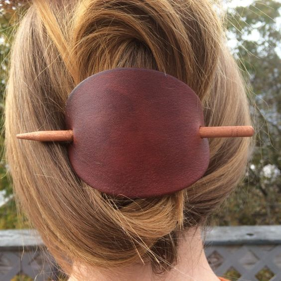 https://www.etsy.com/listing/254531170/large-leather-hair-barrette-leather